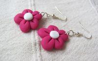 Flori roz mari