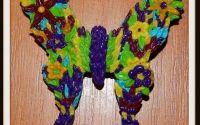 Brosa Fluture Multicolor