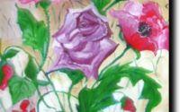 Trandafiri si maci -pictura