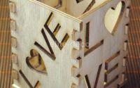 Suport lemn LOVE