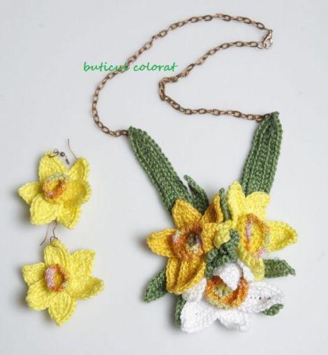 Colier  Spring bouquet