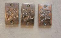 3 buc. conectori argintii