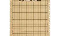 Planseta pentru macrame 19x26 cm