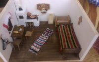 Interior traditional romanesc in miniatura