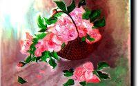 Armonie in roz  -pictura