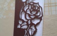 Felicitare trandafir