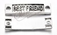 Link BEST FRIEND argintiu antichizat