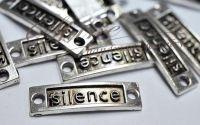 Link Silence argintiu antichizat