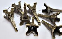Pandantiv Turnul Eiffel bronz antichizat 3D