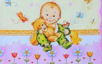 791 Servetel bebelus cu jucarii