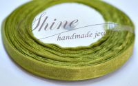 Panglica Organza Yellow Green