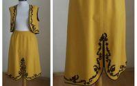 Costum traditional vintage