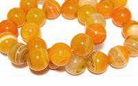 Agate naturale 12 mm Orange