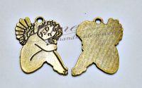 Pandantiv inger bronz antichizat