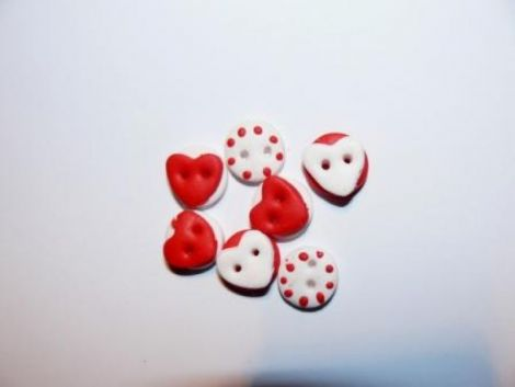 Nasturi cu inimi-15 bucati