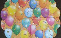 815 Servetel rotund baloane