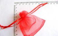 saculeti organza rosu