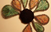 thread brooch