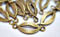 Pandantiv link buze bronz antichizat