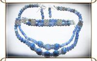 Agate bleu fatetate crabfire