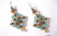 Cercei Delicate Lace