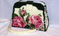 geanta cu trandafiri