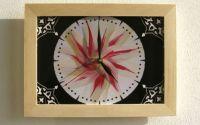 """ceas de perete """"floral"""""""
