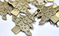 Pandantiv brad bronz antichizat