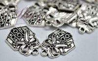 Charm cadou argintiu antichizat
