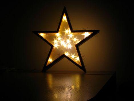 """Lampa """"golden starlight"""""""
