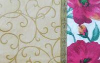 842 Servetel bordura cu trandafiri