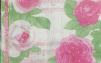892 Servetel trandafir roz si portativ