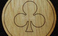 Figurina lemn pentru pictat Trefla - L0239