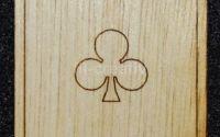 Figurina lemn pentru pictat carte Trefla - L0241