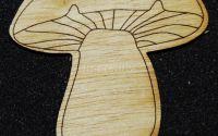 Figurina lemn pentru pictat Ciuperca - L0262