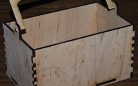 Cos lemn Maria - mare - L0021