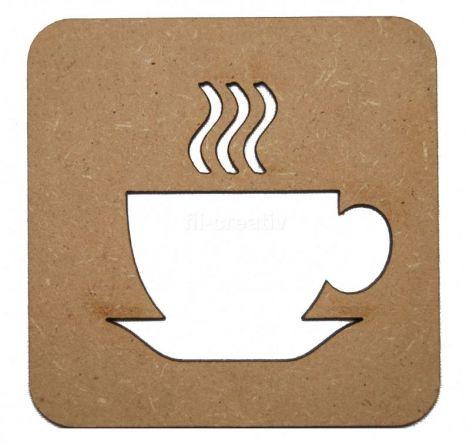 Suport pahar Ceasca de cafea - L0095