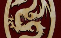 Ornament Dragonas - L0633