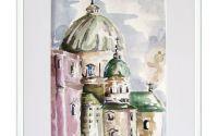 Catedrala - Acuarela - Retinut