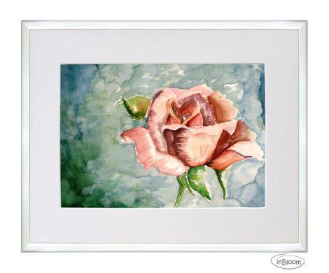 Roses - Acuarela - Retinut