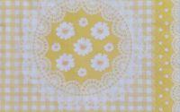 929 Servetel mileu cu flori galbene