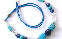 Colier lapis lazuli si turcoaz