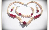 Set- rubin indian si perle de cultura