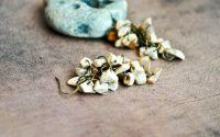 Cercei ciorchine - jasp desert