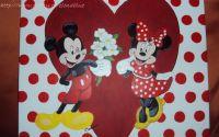 Tablou copii - Mickey si Minnie..love again again