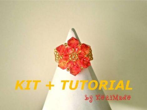 Kit si tutorial - Inel-rozeta