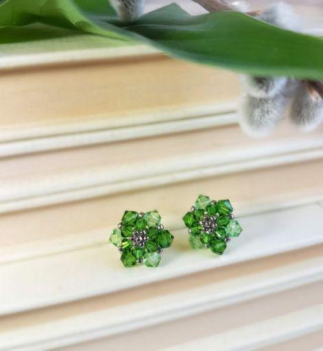 Cercei din cristale Swarovski Mint