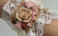 Manseta pink rose