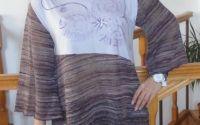 Bluza mov pictata manual- REZERVATA