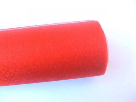 organza rosu
